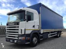 camion cassone centinato Scania