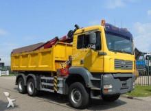 camião MAN 26.360 6x6 HMF 1560 EURO 3 WYWROTKA HYDROBURTA bordmatic HDS