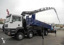 camion MAN TGA 41.410 8x8 HIAB 422 + Fly Jib WYWROTKA