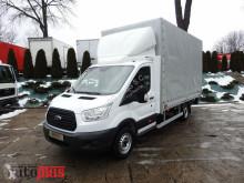 Ford TRANSITSKRZYNIA PLANDEKA WINDA 8 PALET KLIMATYZACJA MAŁY PRZEBI truck