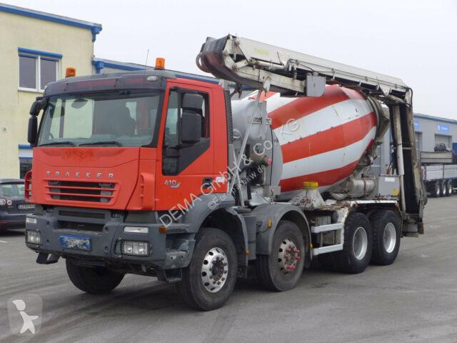 Camion Iveco Trakker 340T41*Euro 4*8x4*Betonmischer*