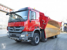 Mercedes three-way side tipper truck