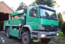 camion Mercedes 1823 PODNOŚNIK 4x4 18 Metrów EURO 3 Falck Schmidt zwyżka dla ENERGETYKI Podest