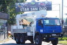 camion Star 266 1466 MAN 6x6 RUTHMANN T230 PODNOŚNIK 25 METRÓW PODEST