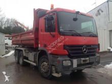 Mercedes construction dump truck