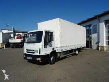 camion Iveco Eurocargo ML75E21 Pritsche/Plane + LBW Euro 6