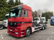 Camion Mercedes Porte Containers Actros 4x2 Sans Hayon Hauteur