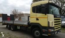 transport utilaje Scania P114