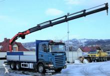 camion Scania R420 *Pritsche 6,55 m + KRAN*Top Zustand!