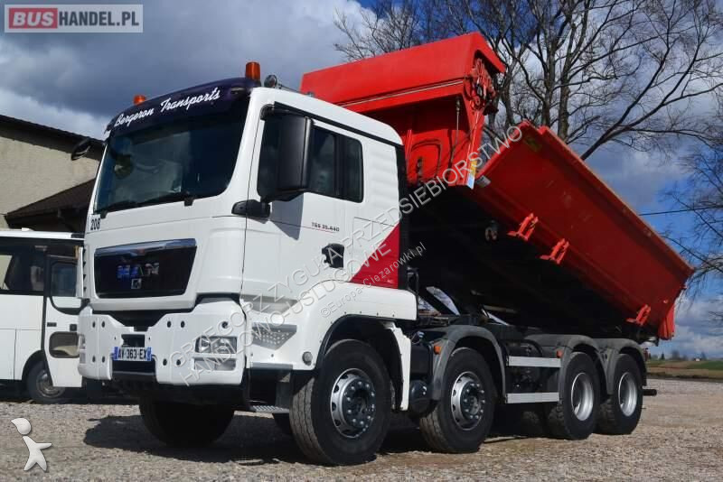 Camion MAN TGS 35.440 / 2 STRONNA WYWROTKA / MANUAL / EURO 5