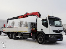 Renault KERAX 370 DXI / 6X2 / CRANE FASSI F150/ L: 7,5 M truck