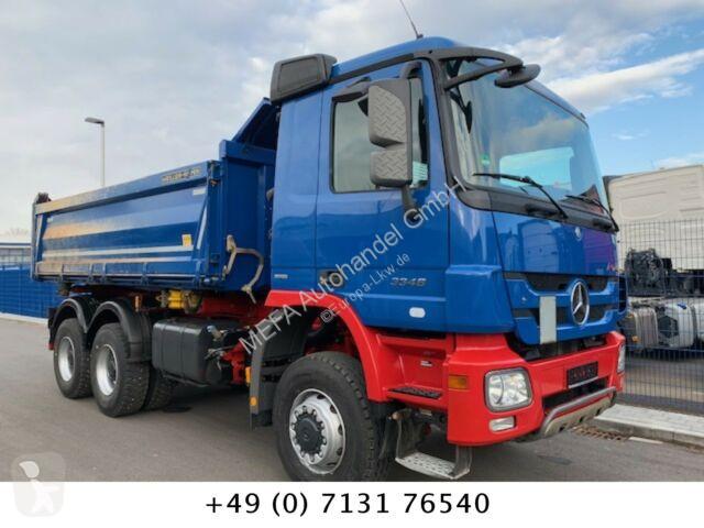 Camion Mercedes Actros 3348 6x6, Bordmatik, Getriebe G 16