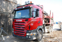 gebrauchter Holztransporter