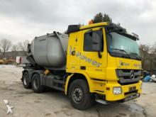 camion Mercedes 2655 6x4 Kipper Asphaltmulde Birne Wechselsyste