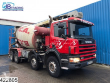 camion Scania 114 380 Liebherr, 14 mtr Flet-belt , Steel suspension, Manual,