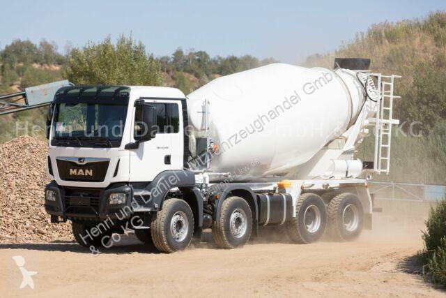 Voir les photos Camion MAN TGS 41.420 8x6 /EuromixMTP EM 10m³ EURO 6