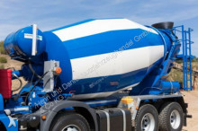 new powder concrete mixer + pump truck