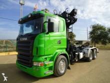 -24h 16 Camión caja abierta Scania R 420 2007 340 000 km6x4 - Euro 5 - Grúa - 42
