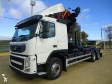 -24h 16 Camión caja abierta Volvo FMX 370 2013 203 000 km6x2 - Euro 5 - Grúa - 3