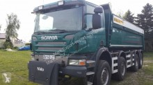 MAN two-way side tipper truck