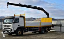 camion Volvo FMX 410 * Pritsche 7,20 m + KRAN /6x2Topzustand!