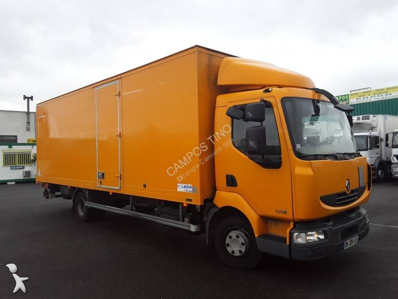 camion renault fourgon midlum 220 euro 5 hayon occasion