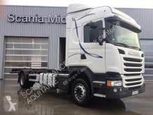 camión portacontenedores Scania