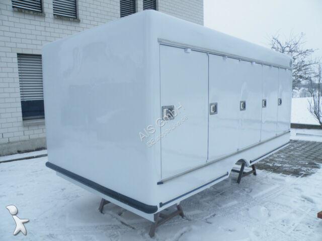 Équipements PL Mercedes 5+5 Türen Carlsen Ice -33°C Eiskühlaufbau