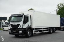 Zobaczyć zdjęcia Ciężarówka Iveco STRALIS / 310 / KONTENER + WINDA / 23 PELETY