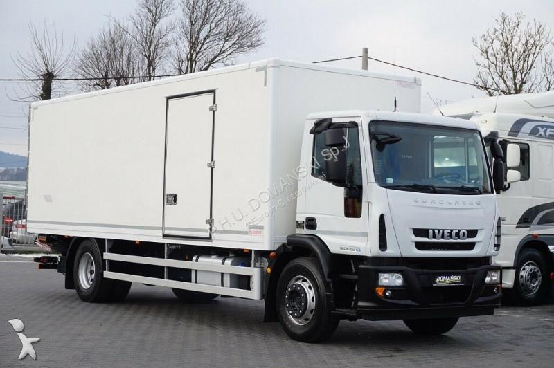 Ciężarówka Iveco EUROCARGO / 180E25 / KONTENER + WINDA / EURO 5