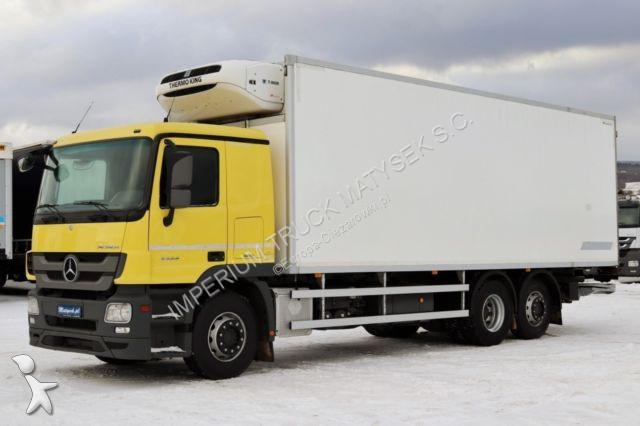 Ciężarówka Mercedes ACTROS 2544 / 6X2 / REFRIDGERATOR/ 21 EP/ EURO 5