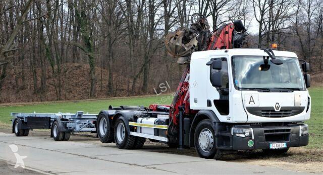 Ciężarówka Renault Premium 450dxi Abrollkipper + Anhänger EURO 5!
