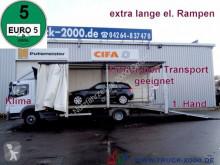 ciężarówka Mercedes 822 Atego Geschlossener Transport + el. Rampen