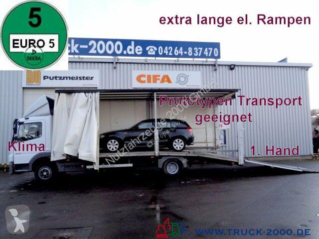 Camion Mercedes 922 Atego Geschlossener Transport + el. Rampen