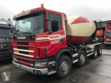 camion Scania M 124-360 12 3 mixer