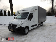 Renault MASTERPLANDEKA 8 PALET KLIMA WEBASTO TEMPOMAT PNEUMATYKA 165KM truck