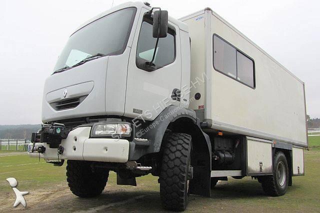 Camion Renault Furgon Midlum 220 4x4 Diesel Euro 3 Rampa