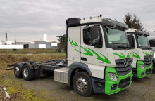 n/a MERCEDES-BENZ - Actros 2548L Fahrgestell Chassis Milch Tank Aufbau 6x2 E6 truck