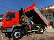 MAN construction dump truck