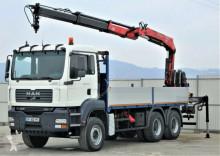 camión MAN TGA 26.350 Pritshe 5,70m+Kran*6x4Top Zustand!!