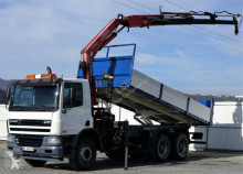 DAF CF 75.340 * Kipper 6,00m + Kran*Top Zustand!! truck