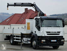 ciężarówka Iveco Stralis 310* Pritsche 7,00m + KRAN EURO 5!