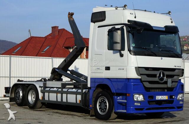 Camion Mercedes Actros 2646 Abrollkipper *Euro 5 * Top Zustand!!