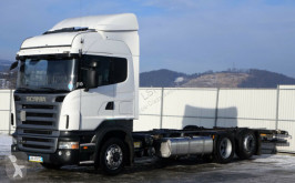 camión Scania R420 Fahrgestell 7,50 m * EURO 5 * Topzustand!