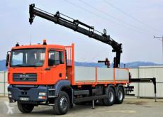 camion MAN TGA 33.350 Pritsche 6.90m + Kran*6x4Topzustand!
