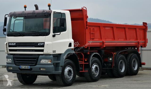 Camion DAF CF 85.380 Kipper+Bordmatic600m 8x4! Top Zustand!