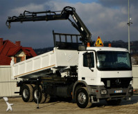 camion Mercedes Actros 3341 Kipper+Bordmatic 5,00m+ Kran