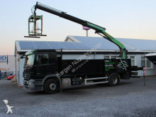 camion Mercedes Actros 1832 Baustoffwagen Kran PK15001L