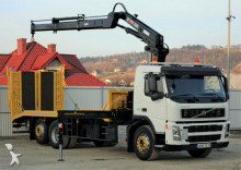 Volvo flatbed truck