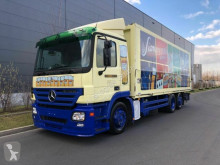 Mercedes beverage delivery flatbed truck